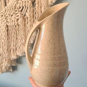 Boho style vintage Canadiana pottery vase